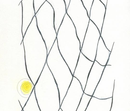 """Ilustrace pro e-book Mariky Paul  """"Tvoje vlastní pravda jako klíč ke štěstí"""""""