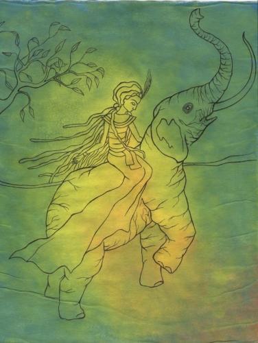 Ilustrace k indonéským pověstem